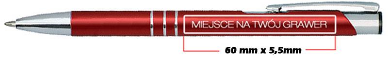 Długopis Kalipso z własnym grawerem